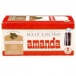Amanda 25 Aufgussbeutel Mate Cocido