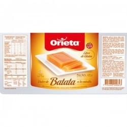 Dulce de Batata Vanillia Orieta