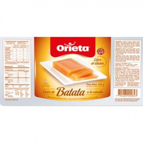 Dulce de Batata - Vanillia (Orieta)