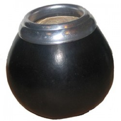 Calebasse classique noire