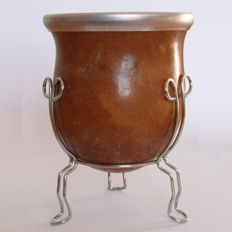 Kalebasse mit stativ, ohne Ring