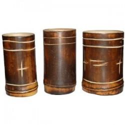 Matebecher aus Bambus - einfach