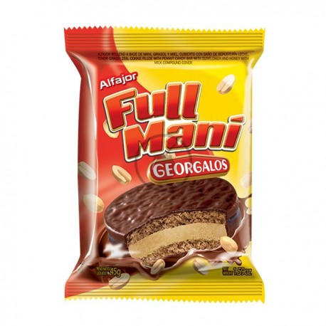 Alfajor Full Mani (Arachide)