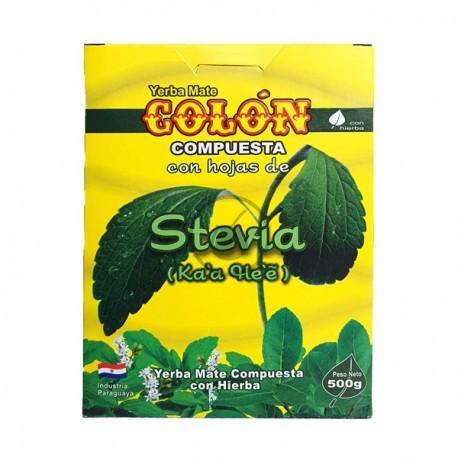Colon avec stévia