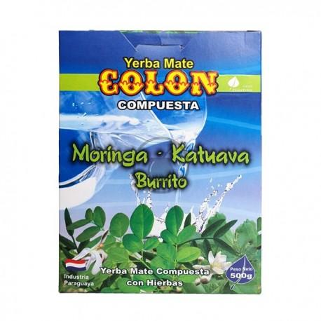 Colon et Moringa Katuava Burrito