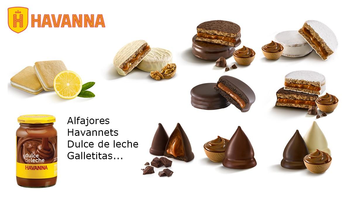 Die grösste Auswahl an Havanna Produkte.
